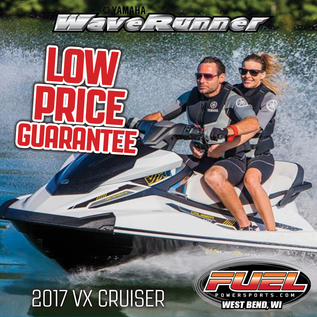 Hottest deals fuel powersports motorcycle waverunner for Yamaha pwc dealers
