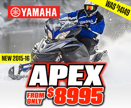 Yamaha snowmobiles for sale in west bend wi near for Used yamaha apex for sale